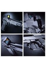 Nighthawk Nighthawk Custom Shadow Hawk 1911 9mm w/RMR One-Piece Mainspring Housing Flat Trigger Ball Radius Slide Smooth Plug
