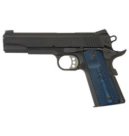 "COLT Colt 1911 Competition 45acp 5"" Fiber Optic Front Sight Novak Rear Sight G10 Grips 2-8rd"