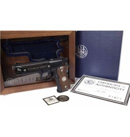 BERETTA Beretta M9 9mm 30th Anniversary Limited Edition 1of 2015 Walnut Display Case 2-15rd Pistol