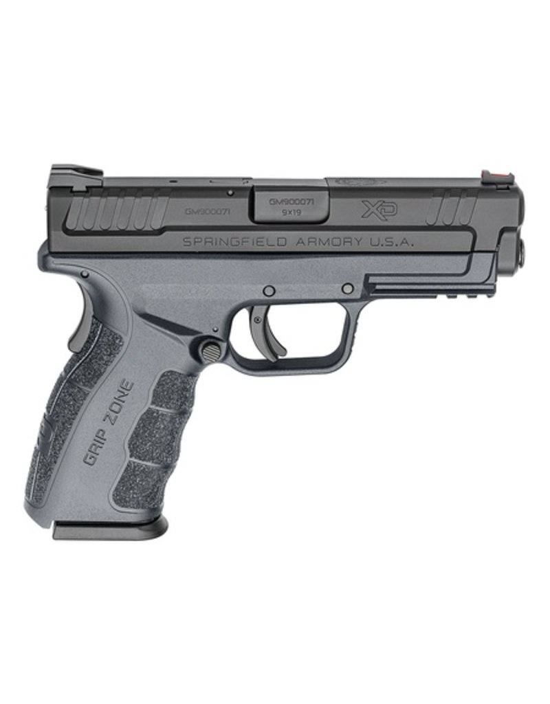 """SPRINGFIELD Springfield Armory XD9 MOD2 Service Gray 4"""" 9mm Fiber Optic Front Sight 2-15rd Altered"""