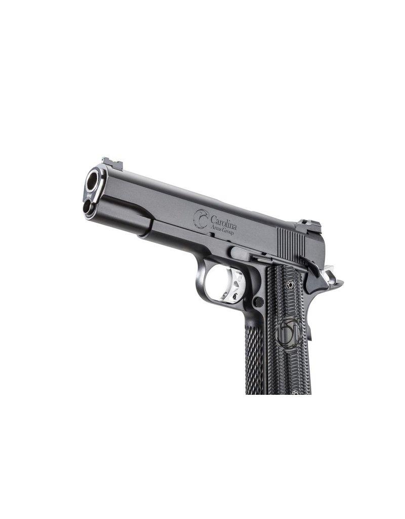 Carolina Arms Group Carolina Arms Group 1911 Trenton Tactical Black 45acp 5‰Û Warren Sights Kart NM Barrel VZ Grips 2-8rd