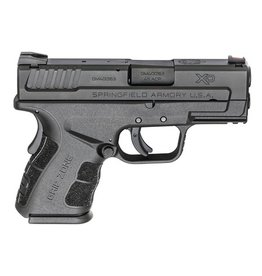 "SPRINGFIELD Springfield XD45 SC MOD2 45acp 3.3"" Barrel BLK Fixed Sights Grip Zone 1-13rd 1-9rd"