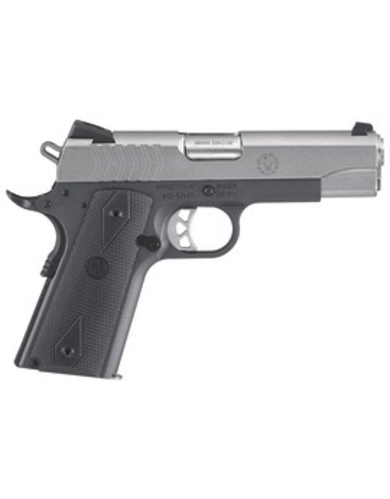 Ruger Ruger SR1911 9mm 4.25‰Û SS Slide/Gray Frame 2-9rd