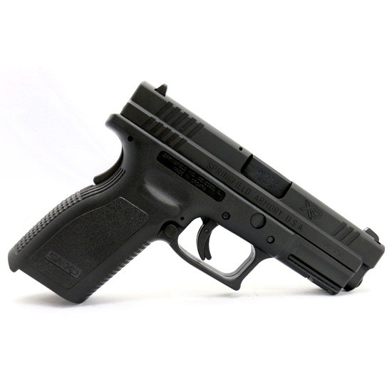 """SPRINGFIELD Springfield XD9 9mm Essentials Kit 4"""" BLK 2-10rd"""