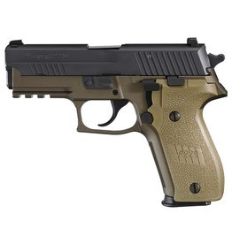 Sigsauer Sig Sauer  P229 Combat 9mm 3.9 Inch Barrel Siglite Night Sights Dark Earth Frame/Grips 2-15 Round