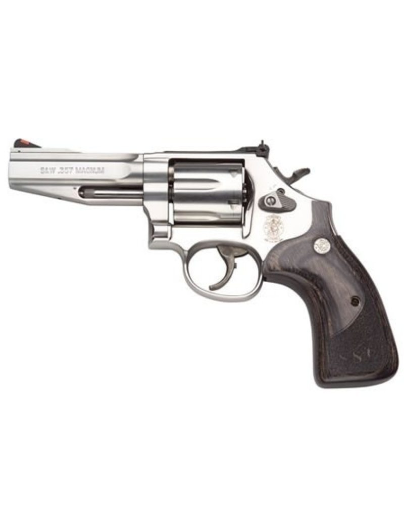 """Smith & Wesson Smith & Wesson Model 686 SSR 4"""" 357mag Wood Grips 6rd"""