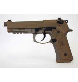 "BERETTA Beretta 92FS M9A3 9mm 5.2"" Extended TB NS Oversized Mag Release 3-10rd FDE never fired USED"