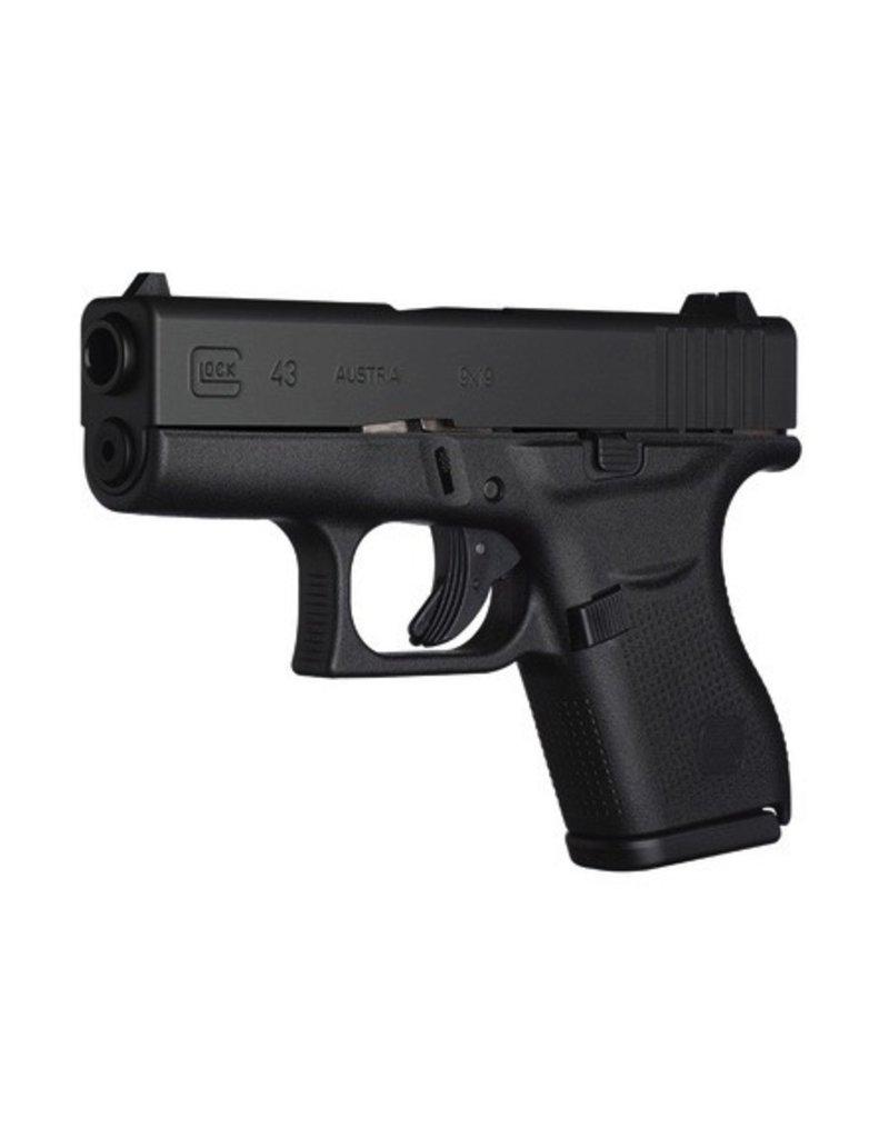 "GLOCK Glock G43 9mm 3.3"" 2-6rd Pistol"