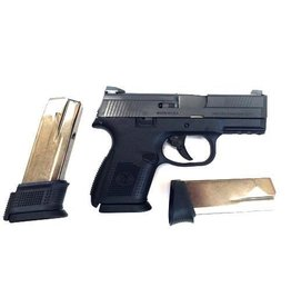 FNH FNH USA FNS-9C 9mm BLK No Safety 2-12rd 1-15rd Altered