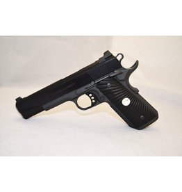 Wilson Combat Wilson Combat 1911 Tactical Supergrade 9mm 5‰Û¡ÌÝå Gray Frame Hand-Blued Slide Countersunk Slide Stop Sterling Silver Grip Medallion Pistol SEQUENTIAL SN*387