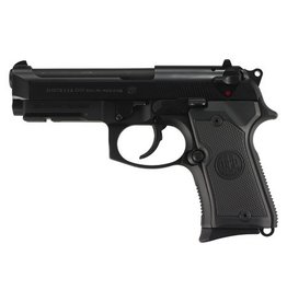 "BERETTA Beretta Model 92 Compact Alloy 9mm 4.3"" Barrel Black Finish 3-Dot Sights 2-13rd"
