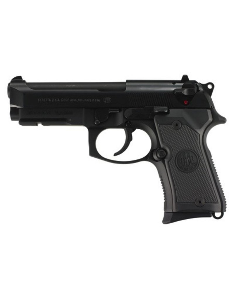 BERETTA Beretta Model 92 Compact Alloy 9mm 4.3‰Û Barrel Black Finish 3-Dot Sights 2-13rd