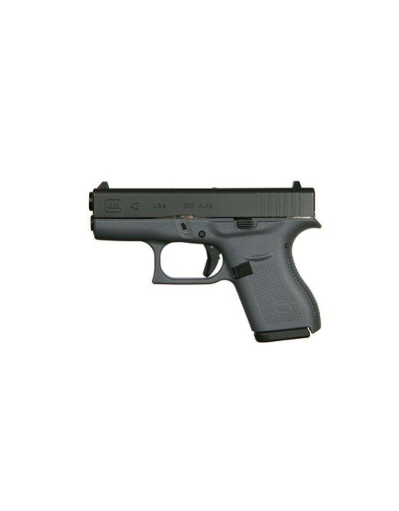 GLOCK Glock G42 Gray .380 Lipsey Exclusive 2-6rd
