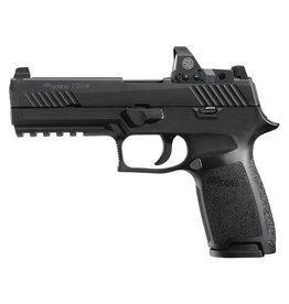 Sigsauer Sig Sauer P320 Full Size 9mm with Romeo Optic 2-15rd Altered