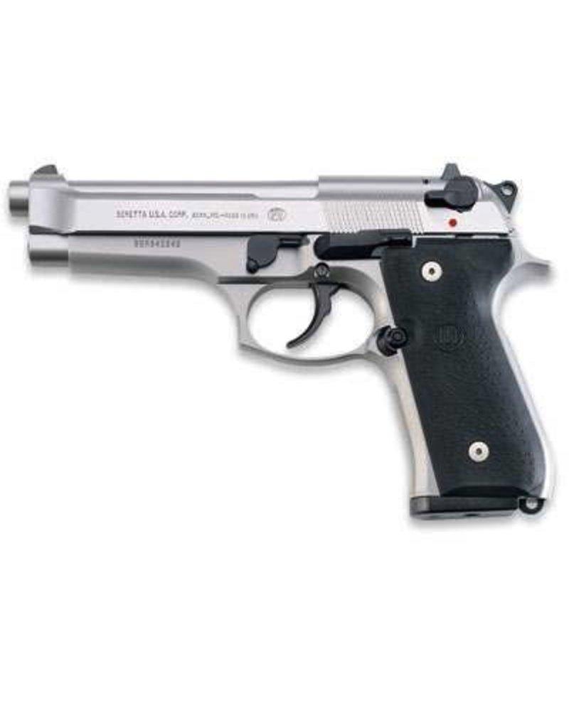 BERETTA Beretta 92FS Inox 9mm SS 2-15rd Mags Safety Decocker