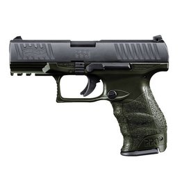 WALTHER Walther PPQM2 9MM OD Green 4 in Barrel 2-15rd Mags