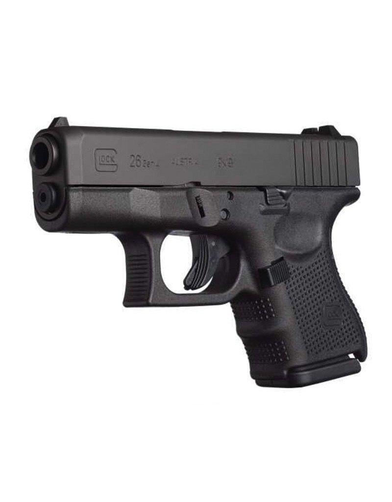 "Glock Glock G26 Gen4 9mm 3.42"" USA 3-10rd"