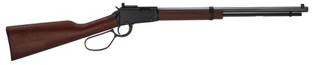 HENRY HRA Henry Small Game Rifle .22 Magnum 20 Inch Octagon Barrel Skinner's Sights Large Loop Lever American Walnut Stock 12 Round