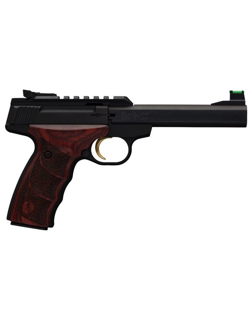 Browning Browning Buckmark Plus UDX 22LR Blued Rosewood Grips 5.5in<br /> 10+1