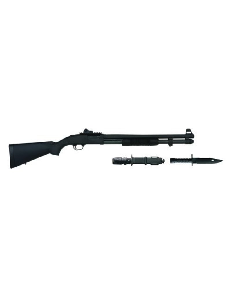 MOSSBERG Mossberg 590A1SPX 12Ga 20In Parkerized Heavy Barrel 8 Shot Includes US M9 Bayonet & Scabbard