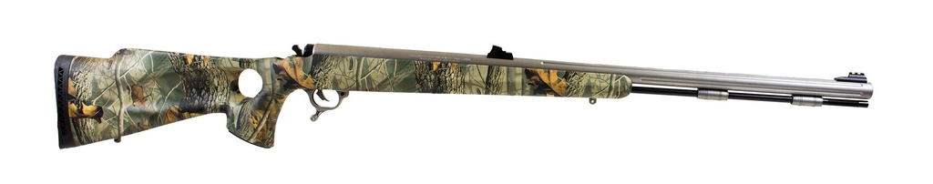 Thompson Thompson Omega Z75 Muzzleloading Rifle Woodland Camo .50 cal Black Powder Only Used