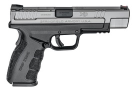 """SPRINGFIELD Springfield Armory XD9 MOD2 Tactical 9mm 5"""" Bi-Tone Fiber Optic Front Sight Low Profile Combat Rear Sight 2-15rd Altered"""