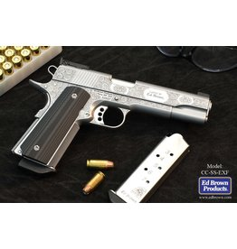 Ed Brown Ed Brown Exhibition Edition Fully Engraved English Rose & Scroll SS5in .45acp