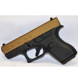 Glock Glock G19 G4 9mm Hot Cerakote Burnt Bronze Slide 3-15rd