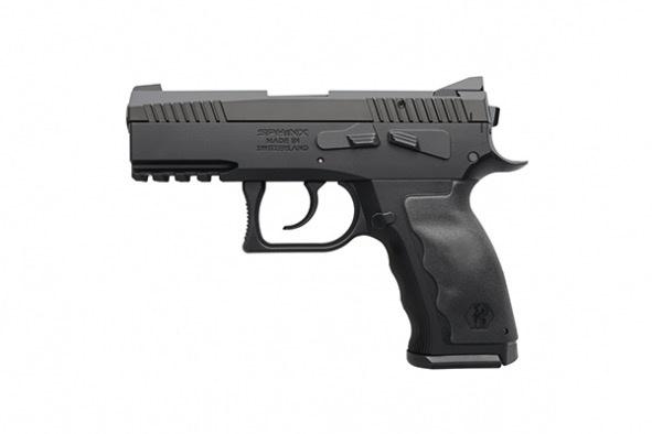 KRISS Kriss USA Sphinx SDP Compact  Black DA SA Decocker Iron Sights 15rd 9mm