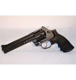 "Nighthawk Nighthawk Custom Korth  Mongoose 6"" .357 Revolver with Additional Fitted & Tuned 9mm Cylinder Blued Custom Case"