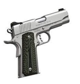 KIMBER Kimber Stainless Pro TLE II .45acp 4.25 in Satin Silver G-10 Grips 1-7rd