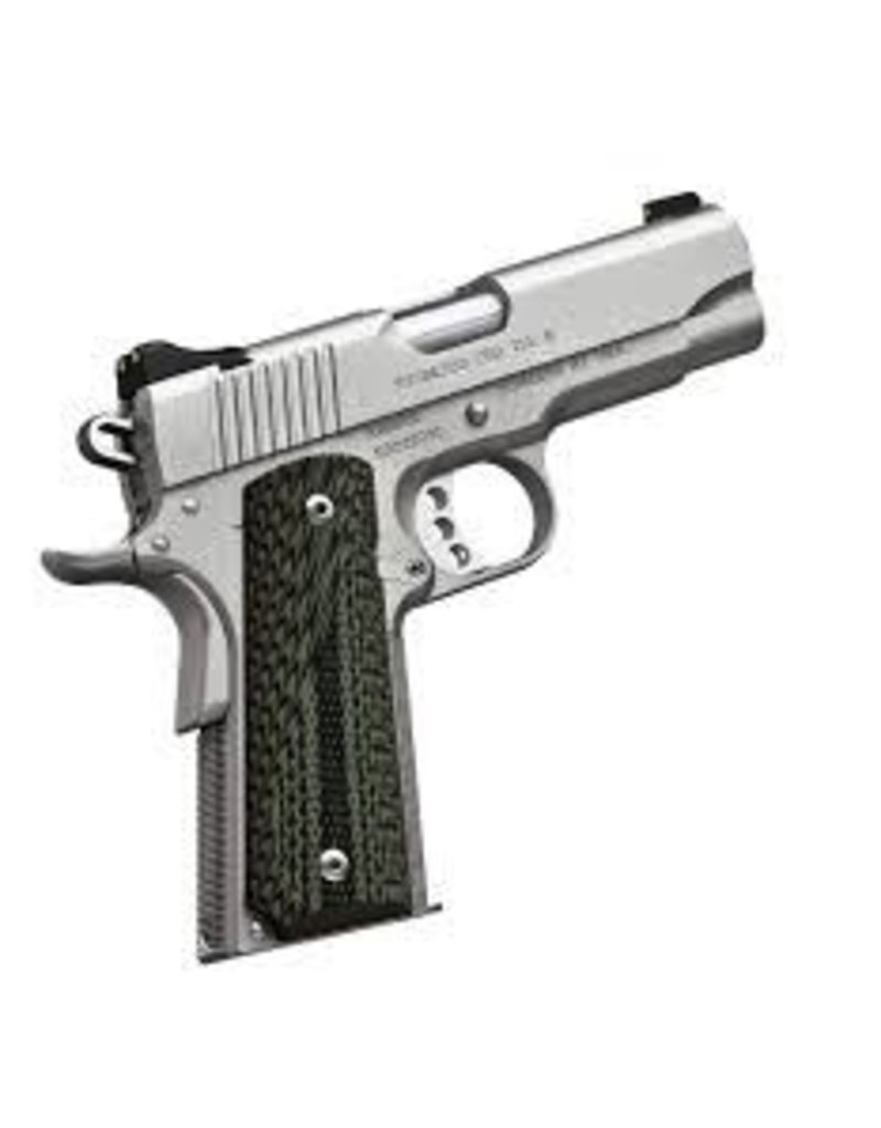 KIMBER Kimber Stainless Pro TLE II .45acp 5.25 in Satin Silver G-10 Grips 1-7rd