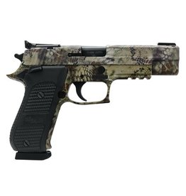 Sigsauer Sig Sauer P220 Stainless Elite Kryptek 10mm 5 Inch Barrel Adjustable Sights Kryptek Camouflage Slide and Frame Finish Black G10 Grips 8-RD
