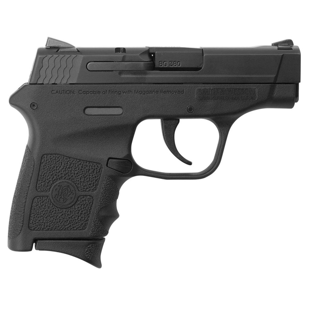 Smith & Wesson Smith & Wesson Bodyguard 380acp 2-6rd w/ Safety Blue Label