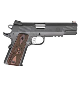 """SPRINGFIELD Springfield Armory 1911 Range Officer 45ACP 5"""" Cocobola Checkered Grips 7+1 Adj Target Sighjts"""