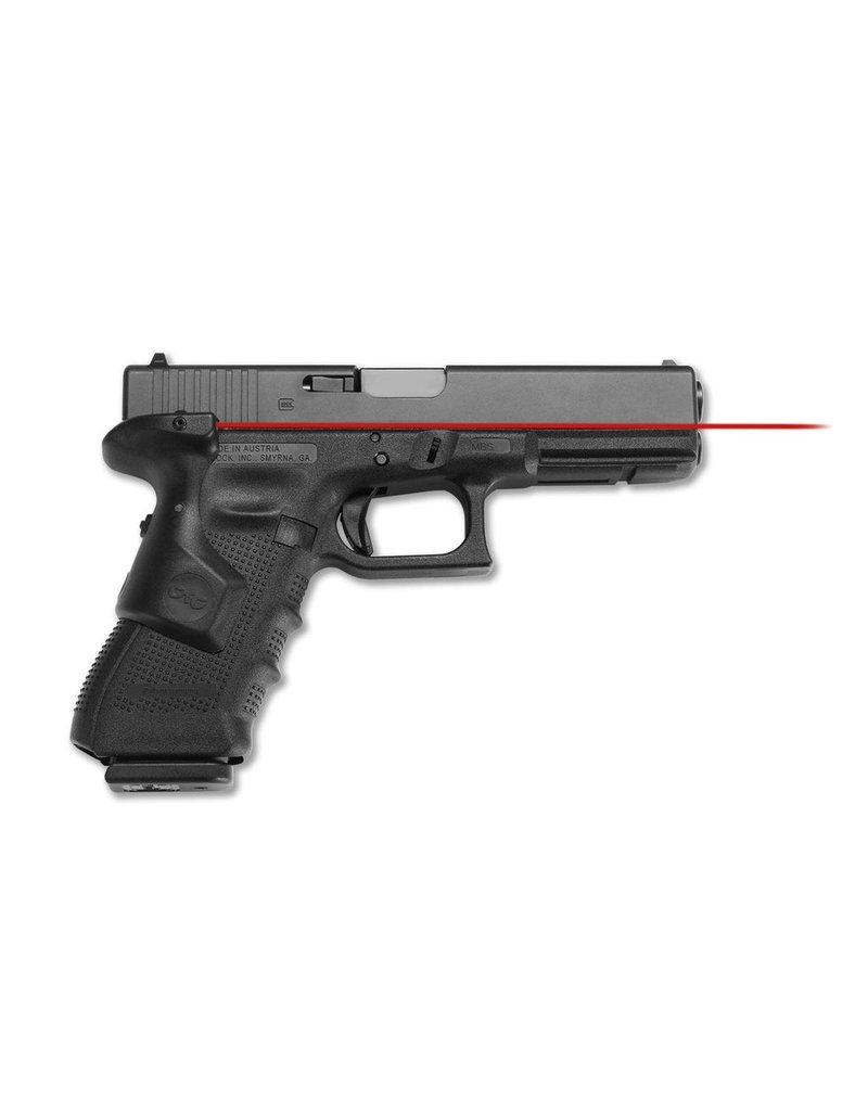 "RTSP Glock G17 Gen4 9mm 4.48"" Crimson Trace LaserGrips 3-15rd Altered"