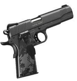 KIMBER Kimber Custom Covert Charcoal Gray KimPro II .45ACP 1-7Rd Night Sights Urban Camo Crimson Trace Lasergrips