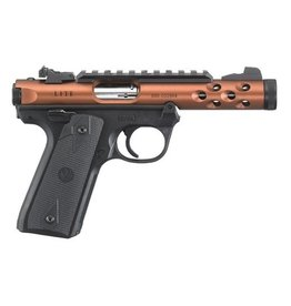 Ruger Ruger MK IV 22/45 Lite .22LR Bronze Anodized 5.5in Threaded Barrel 2-10rd Mags