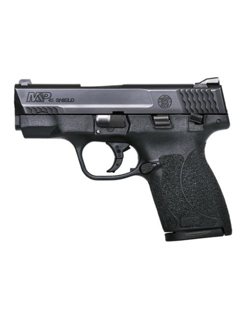 "Smith & Wesson Smith & Wesson M&P Shield .45 ACP w/Safety 3.3"" 1-6rd 1-7rd - BLUE LABEL"