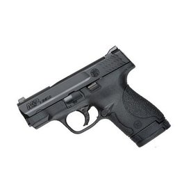 Smith & Wesson Smith & Wesson M&P Shield 9mm Night Sights No Safety 1-7rd 2-8rd BLUE LABEL