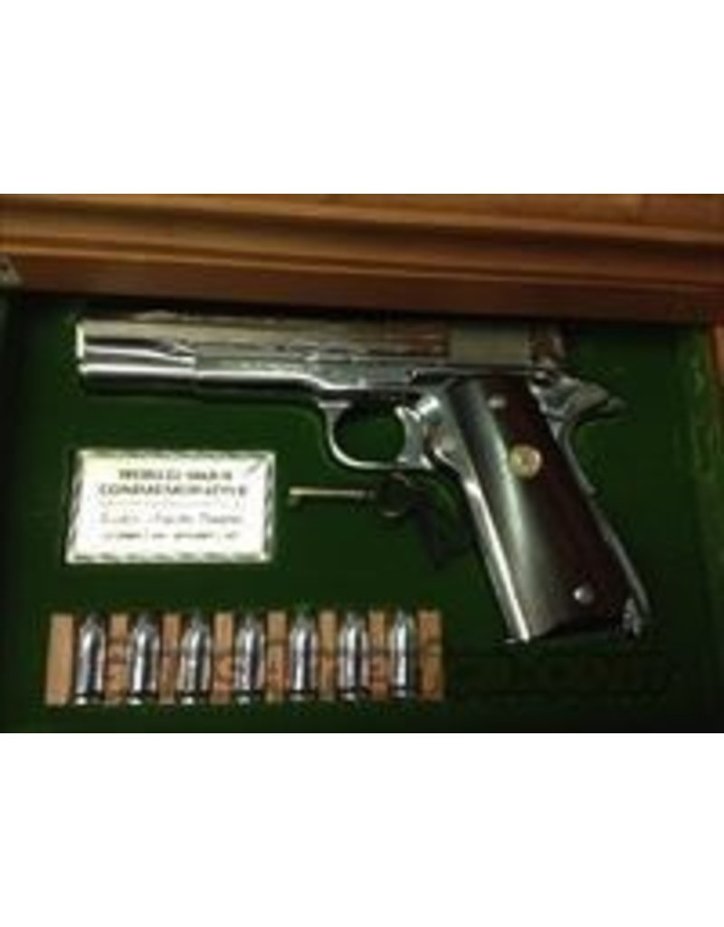COLT Colt World War II Commemorative Asiatic-Pacific Theater Model 1911 .45 ACP Wooden Locking Display Case
