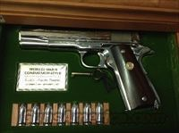 COLT Colt World War II Commemorative Asiatic-Pacific Theater Model 1911 .45 ACP Wooden Locking Display Case USED