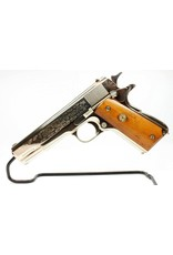 COLT Colt World War II Commemorative European African Theater Model 1911 .45 ACP Wooden Locking Display Case