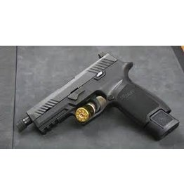 Sigsauer Sig Sauer P-320 Tac-Ops 9mm 3.9in Nitron Blk 4-15rd Alter Threaded Barrel Siglite Night Sights
