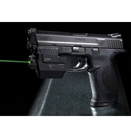 "RTSP Smith & Wesson M&P9 9mm 4.25"" 2-15rd Altered w/ Viridian Green Laser Sight & Blackhawk CQC Holster"