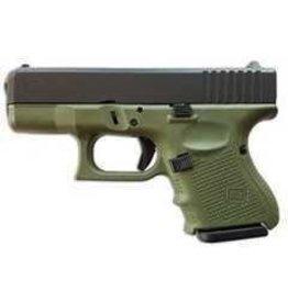 """GLOCK Glock G26 Gen4 9mm 3.42"""" 3-10rd OD"""