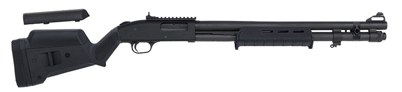 "MOSSBERG Mossberg 590A1 Magpul 12Ga Parkerized Heavy 20"" Barrel Peep Sight Picatinny Rail 9 Shot"