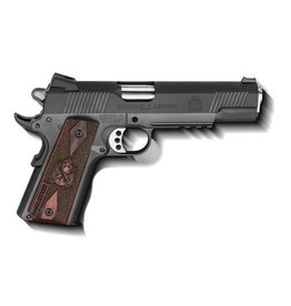 SPRINGFIELD Springfield Armory 1911 Range Officer 9mm Parkerized Novak Sights Fiber Optic Front Sight Cocobola Grips 9rd