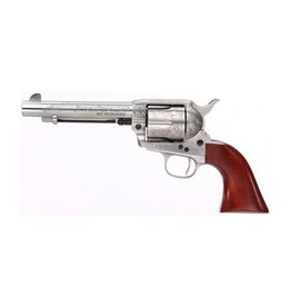 "Taylor's & Co Taylor & Company Cattleman Stainless Floral Engraved .357 Mag 5.5"" Heat Treated Fire Blued Screws"