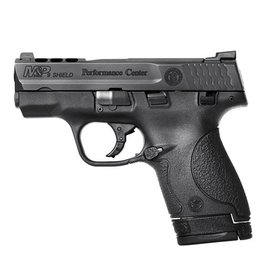 Smith & Wesson Smith & Wesson M&P 9 Shield Performance Center Ported Night Sights 9mm 1-7rd, 1-8rd Blue Label